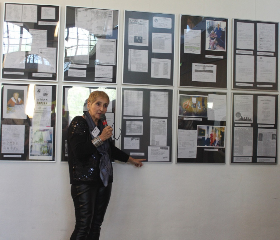Ausstellung über Emilie und Oskar Schindler